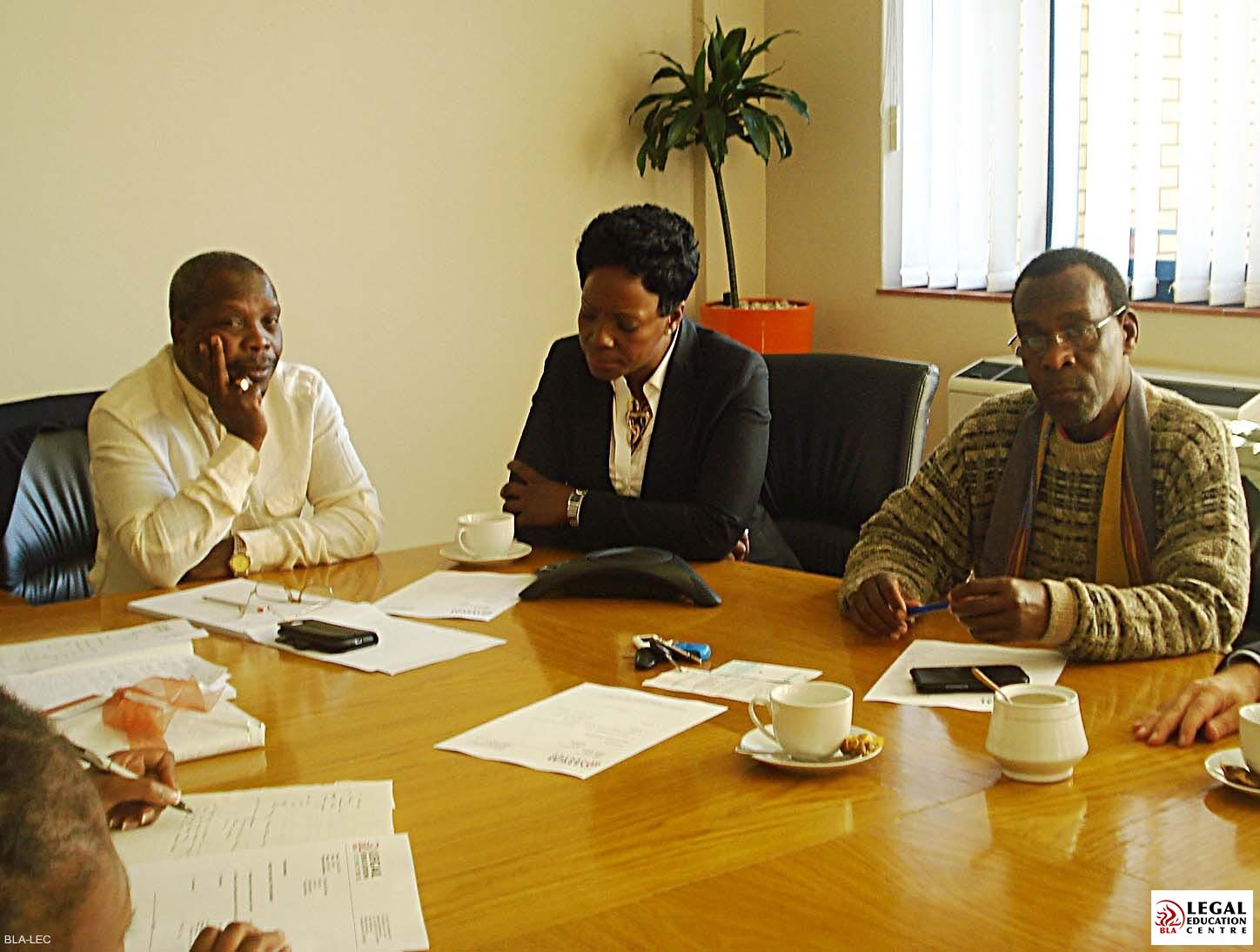 Image from sessions intended to provide staff with an opportunity to interact and exchange views with various experts or leaders in their field.